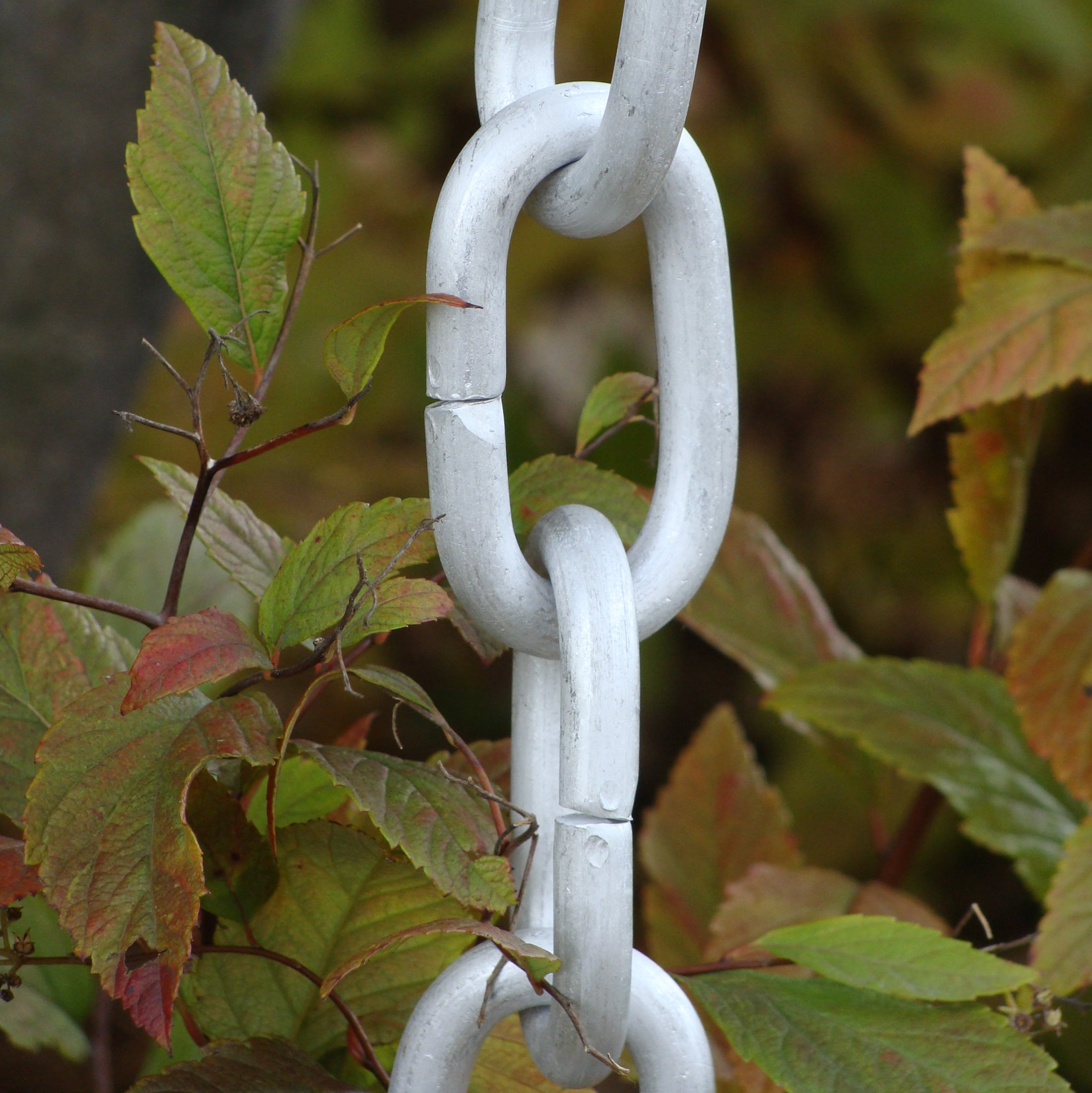 Click For A Larger View T4 Aluminum Link Rain Chain