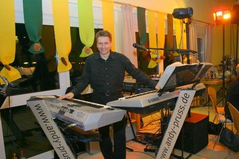 Entertainer Alleinunterhalter  Livemusiker Andy Pruss