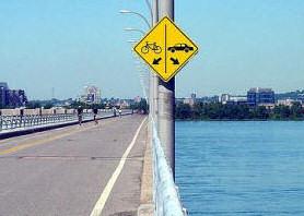 Grappig teken om auto's te ontmoedigen