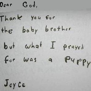 God to letter