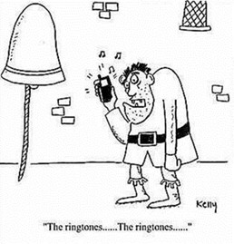 Funny short story about bell ringers Campanology