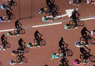 Tour de France in de schaduw