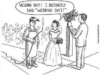 Funny Bride Cartoons