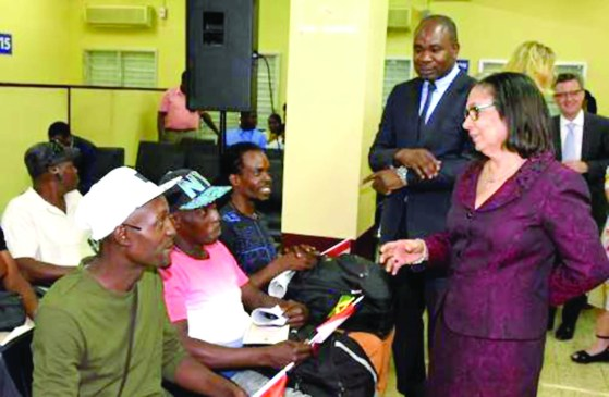 113 Jamaica farm workers leave for Canada – Guyana Times