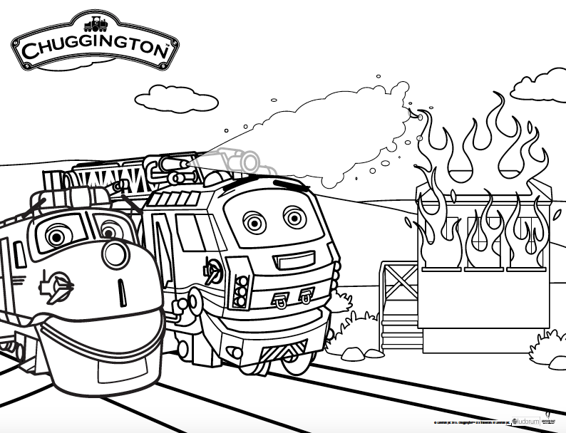 Chuggington Fire Patrol Rescue Day Is March 31st!