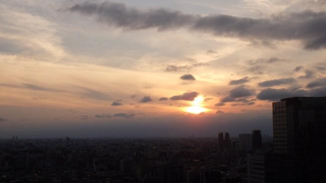 Shinjuku sunset