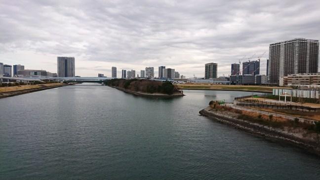 Sumida river near Toyosu