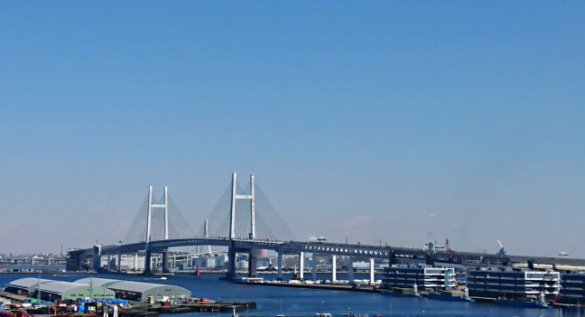 View from the top: Yokohama Bay Bridge