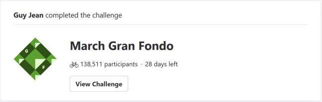 March Gran Fondo