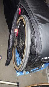Wheels go in their own pockets