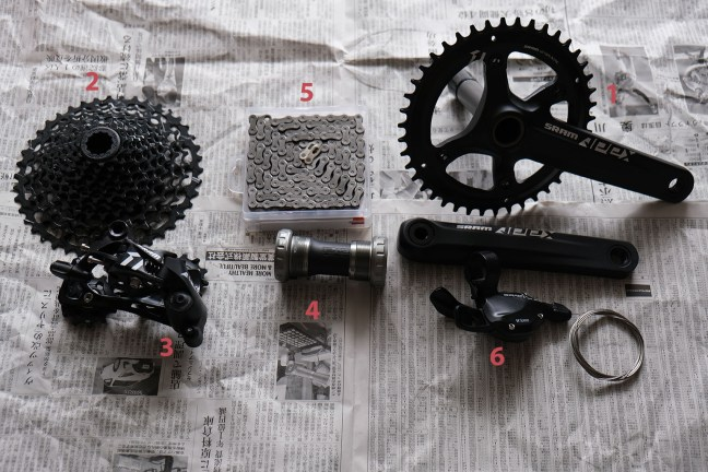 Bicycle drivetrain