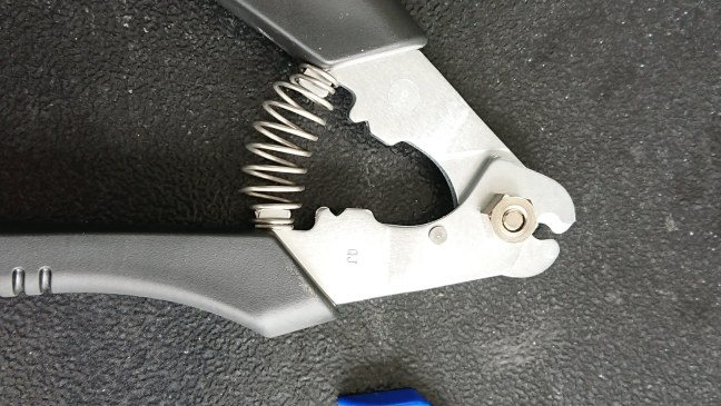 Shimano cable cutter and included awl