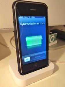 dock et iphone
