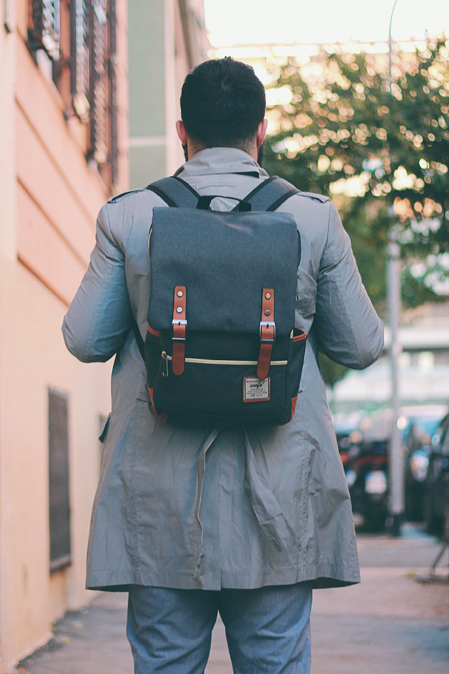 newchic laptop business backpack