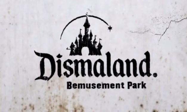 Street artist Banksy reveals his creepy version of Disneyland