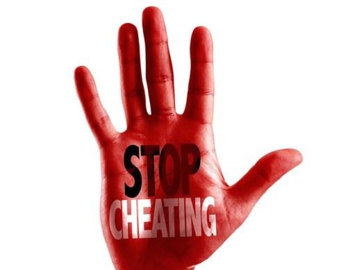 stop cheating spells