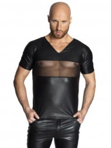 Wetlook Shirt von Noir Handmade