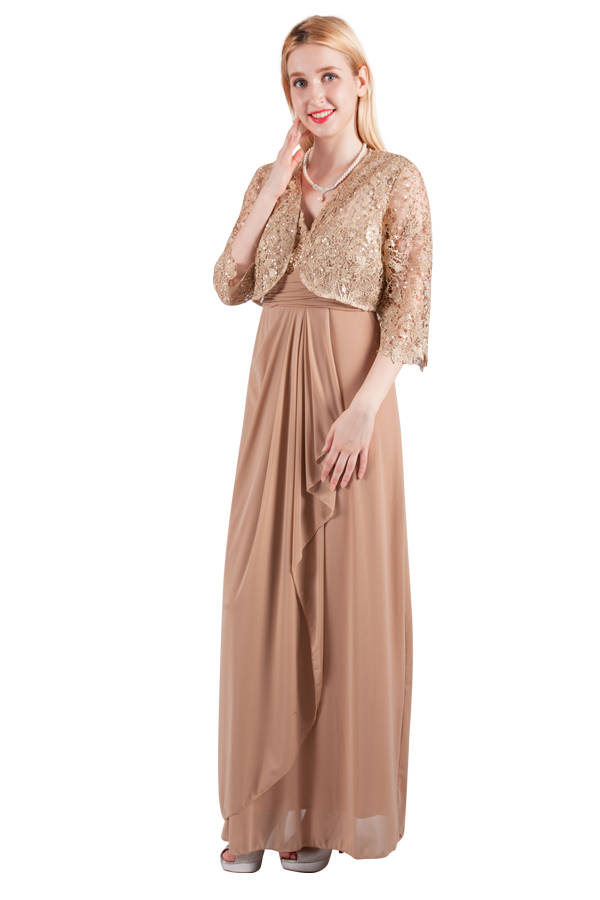 Miss Anne 4120 Long Dress and Jacket WAS $250 NOW $100