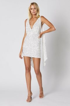 Winona Elodie sequin backless dress $349.95
