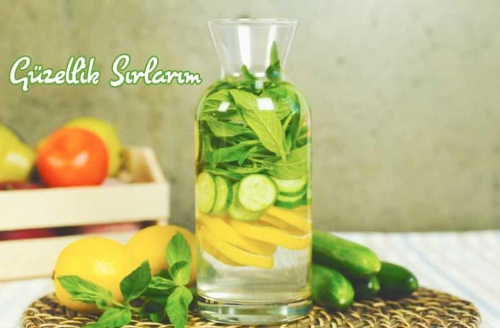 Limon ve Salatalık Detoksu