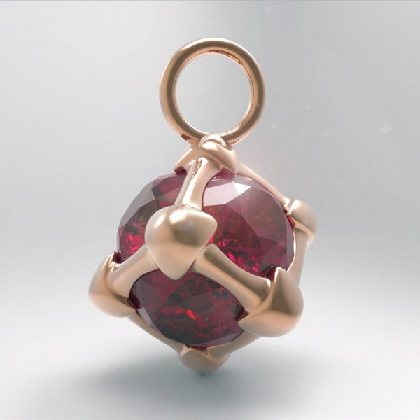Six – R – Pink Gold and Rubies