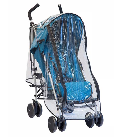 Universal Umbrella Stroller Raincover - Guzzie & Guss