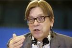 verhofstadt feliciteert de wever met uitschakeling vlaams belang