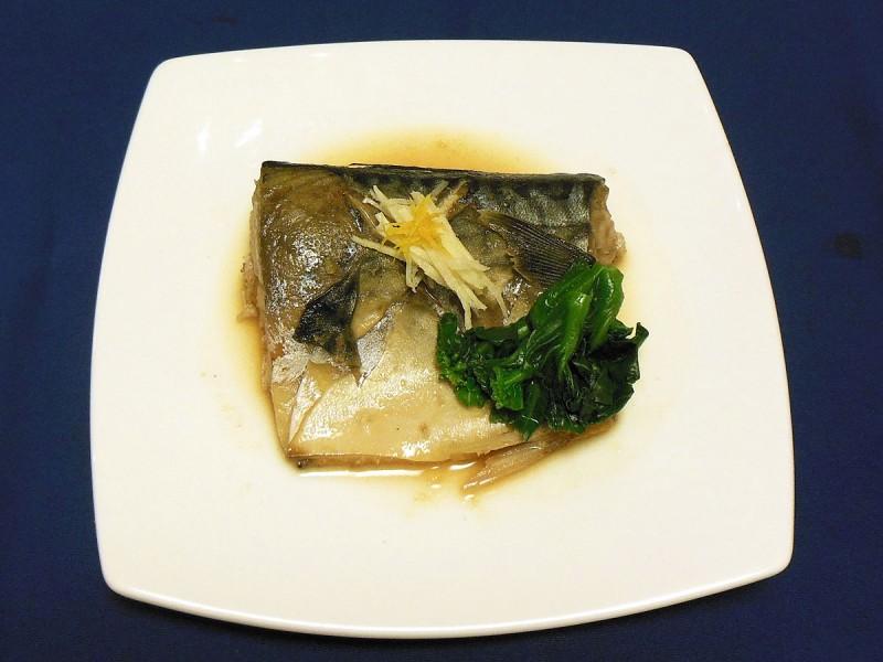 寒鯖の味噌煮 柚子風味 (嵯峨野 オンワードビーチリゾート)