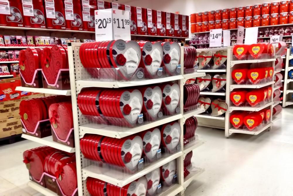Kマートのバレンタイン商品