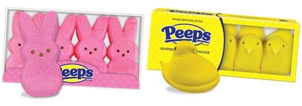 ひよこやウサギのカラフルなマシュマロ「Peeps(ピープス)」