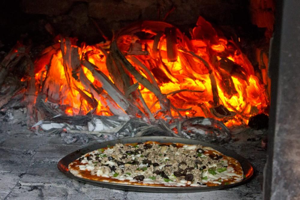 グアムにひとつしかないスペインの伝統的なドーム型オーブン (イナラハン)