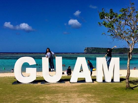 GUAM イパオビーチ (2019年2月5日)