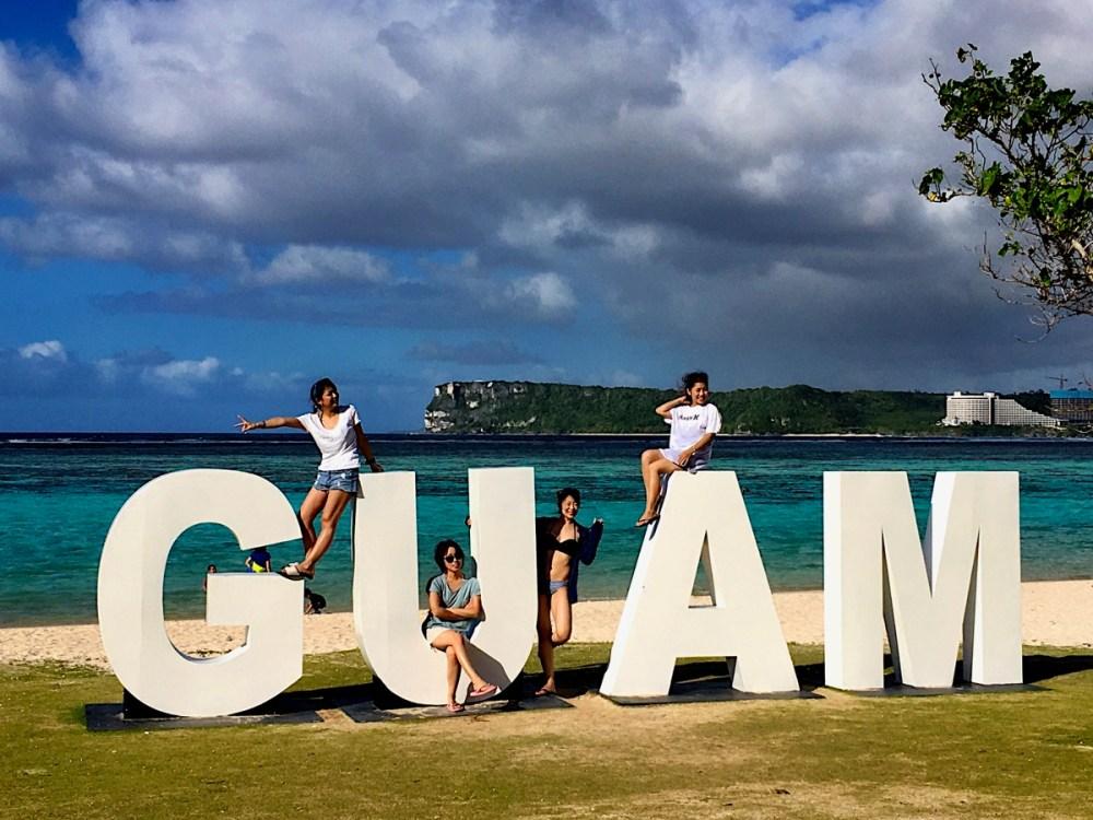 GUAM イパオビーチ (2019年2月13日)