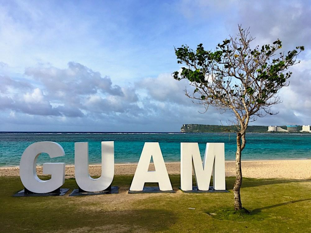 GUAM イパオビーチ (2019年2月20日)