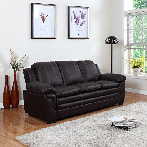 Leather Sleeper Sofa Set