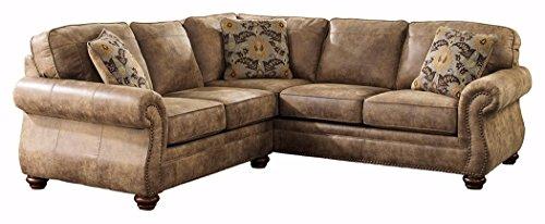 right arm facing sofa left chaise 2 seater leather next ashley furniture signature design - larkinhurst 2-piece ...