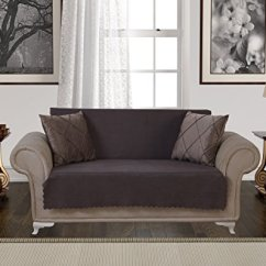 Extra Long Sofa Slipcover White Leather Ottawa Anti-slip Armless Pet Dog Cover Couch Covers ...
