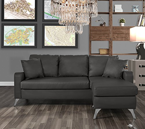 small es configurable sectional sofa black lancaster leather rh divano roma furniture bonded space couch dark