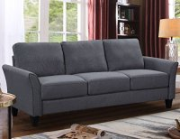 Harper&Bright Designs Sectional Sofa Set 3-Seat Sofa and ...