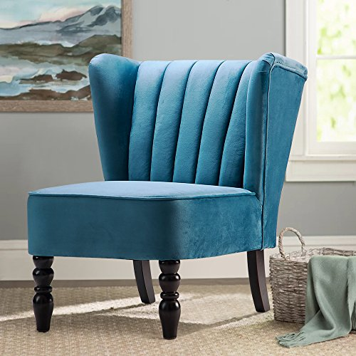 Bright Blue Accent Chair