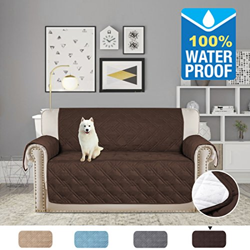 waterproof chair covers for recliners dining room adelaide h.versailtex premium quilted furniture protector non-slip with plastic drop printing microfiber ...