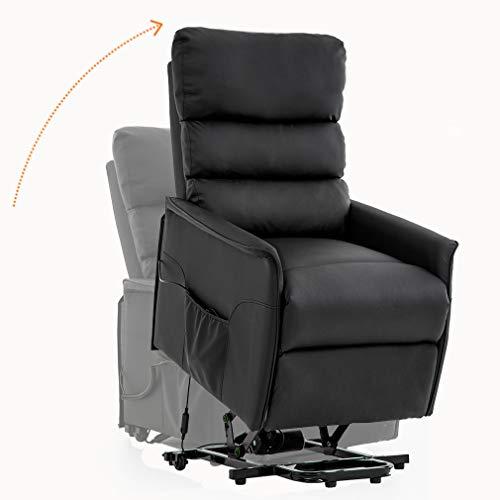electric reclining chairs for elderly marie bean bag chair uk lift recliner power wall hugger re