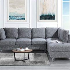 Tufted Linen Sectional Sofa Couch Online India 101 1 Inch Classic Living Room L Shape