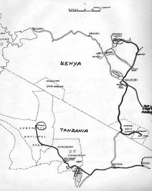 Verslag van een studiereis naar Oost-Afrika, 1976