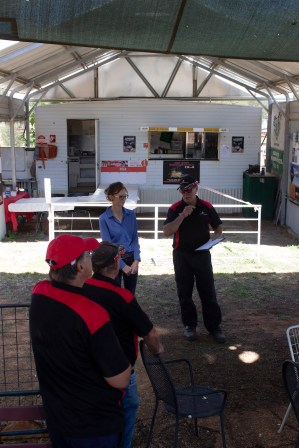 Steph Cooke MP and Kerry Phelan Gasworks Motorsports Speeches -- Illabo Motorsport Park March 10, 2021