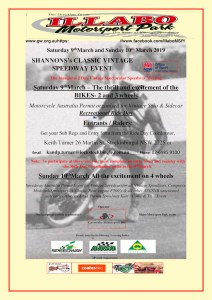 KT Bikes Event Poster 9-10 March 2019