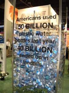 50 billion plastic bottles used in US