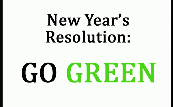 New Year Green Resolutions