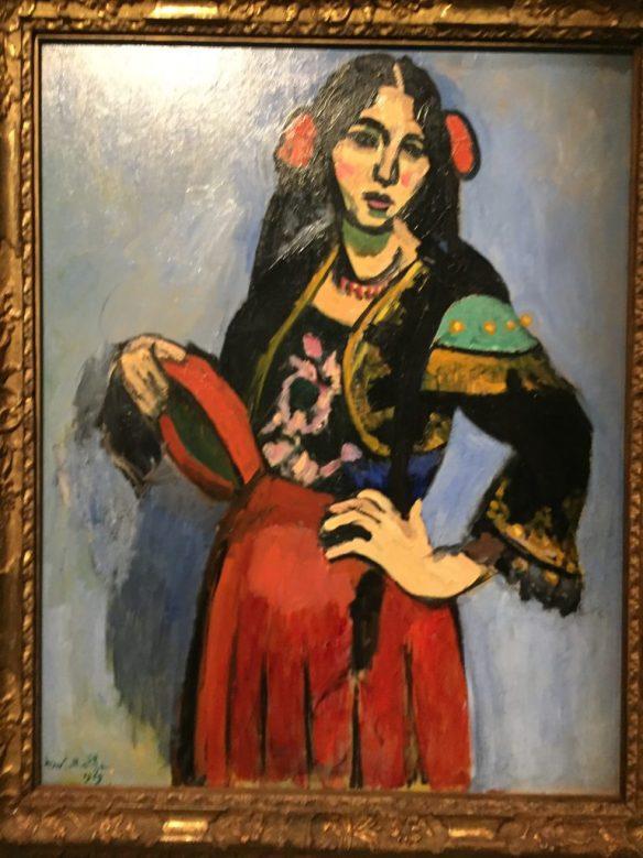 Henri Matisse - Spanish Woman with Tambourine