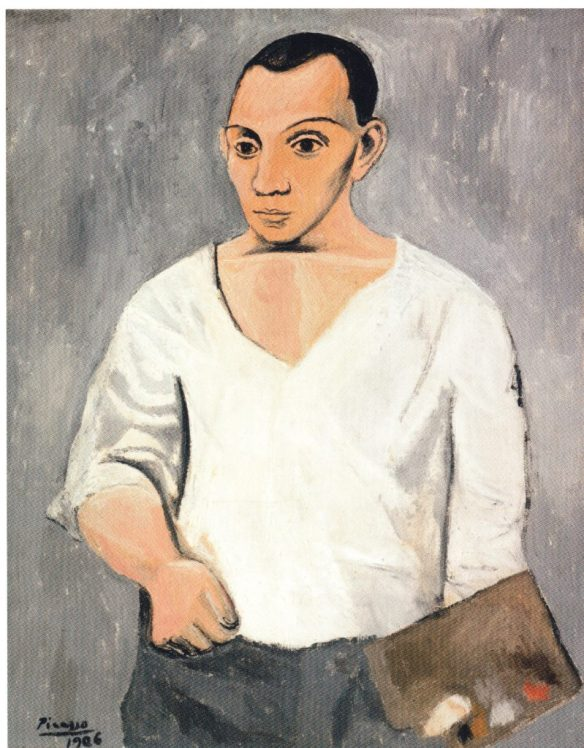 picasos-self-portrait